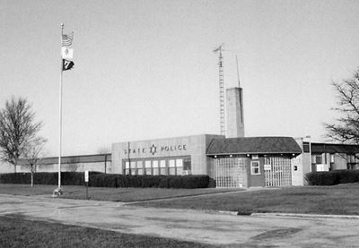 Exterior View of 1942 ISP HQ