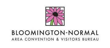 Bloomington Normal Convention and Visitor's Bureau Logo - Click to Visit Website