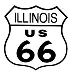 Route 66 Logo - Click to Visit Route 66 Association of Illinois Website