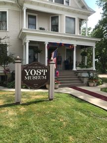 Yost House Exterior Sign