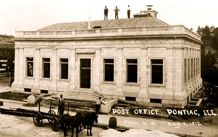 Post Office Under Construction - 1912